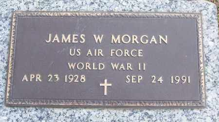 MORGAN (VETERAN WWII), JAMES W - White County, Arkansas | JAMES W MORGAN (VETERAN WWII) - Arkansas Gravestone Photos