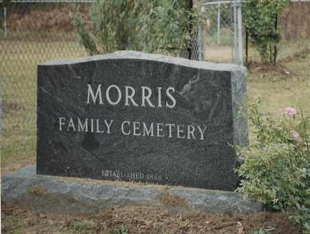 *MORRIS FAMILY CEMETERY,  - White County, Arkansas |  *MORRIS FAMILY CEMETERY - Arkansas Gravestone Photos