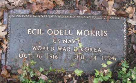 MORRIS (VETERAN 2 WARS), ECIL ODELL - White County, Arkansas | ECIL ODELL MORRIS (VETERAN 2 WARS) - Arkansas Gravestone Photos