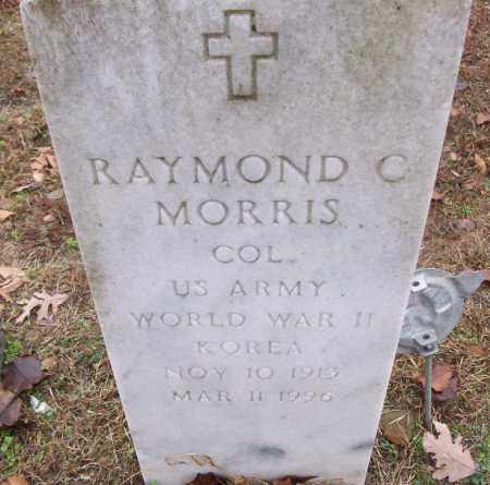 MORRIS (VETERAN 2 WARS), RAYMOND C - White County, Arkansas | RAYMOND C MORRIS (VETERAN 2 WARS) - Arkansas Gravestone Photos