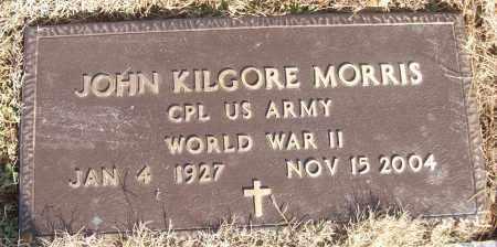 MORRIS (VETERAN WWII), JOHN KILGORE - White County, Arkansas | JOHN KILGORE MORRIS (VETERAN WWII) - Arkansas Gravestone Photos