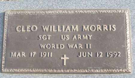 MORRIS (VETERAN WWII), CLEO WILLIAM - White County, Arkansas | CLEO WILLIAM MORRIS (VETERAN WWII) - Arkansas Gravestone Photos