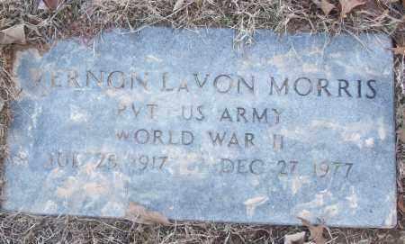 MORRIS (VETERAN WWII), VERNON LAVON - White County, Arkansas | VERNON LAVON MORRIS (VETERAN WWII) - Arkansas Gravestone Photos