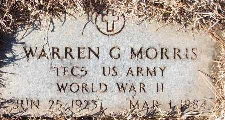 MORRIS (VETERAN WWII), WARREN G - White County, Arkansas | WARREN G MORRIS (VETERAN WWII) - Arkansas Gravestone Photos