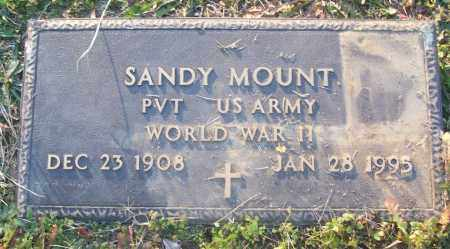 MOUNT (VETERAN WWII), SANDY - White County, Arkansas | SANDY MOUNT (VETERAN WWII) - Arkansas Gravestone Photos