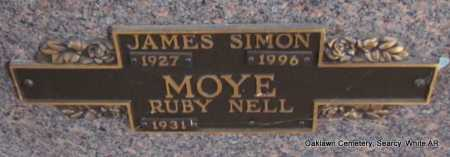 MOYE  (VETERAN), JAMES SIMON - White County, Arkansas | JAMES SIMON MOYE  (VETERAN) - Arkansas Gravestone Photos