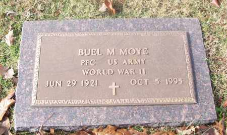 MOYE  (VETERAN WWII), BUEL M. - White County, Arkansas | BUEL M. MOYE  (VETERAN WWII) - Arkansas Gravestone Photos