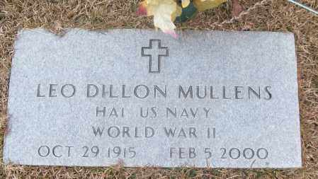 MULLENS (VETERAN WWII), LEO DILLON - White County, Arkansas | LEO DILLON MULLENS (VETERAN WWII) - Arkansas Gravestone Photos