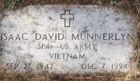 MUNNERLYN (VETERAN VIET), ISAAC DAVID - White County, Arkansas | ISAAC DAVID MUNNERLYN (VETERAN VIET) - Arkansas Gravestone Photos