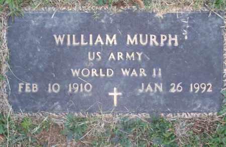 MURPH (VETERAN WWII), WILLIAM - White County, Arkansas | WILLIAM MURPH (VETERAN WWII) - Arkansas Gravestone Photos