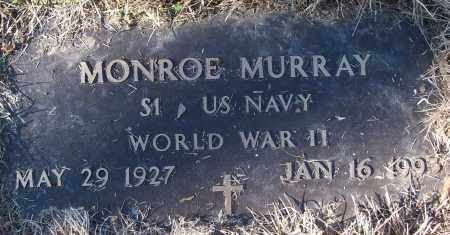 MURRAY (VETERAN WWII), MONROE - White County, Arkansas | MONROE MURRAY (VETERAN WWII) - Arkansas Gravestone Photos