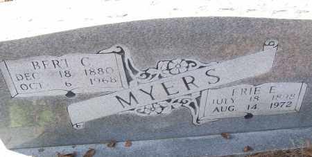 MYERS, BERT C. - White County, Arkansas | BERT C. MYERS - Arkansas Gravestone Photos