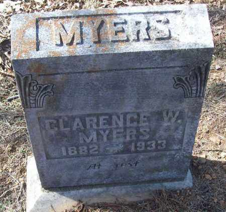 MYERS, CLARENCE W. - White County, Arkansas | CLARENCE W. MYERS - Arkansas Gravestone Photos