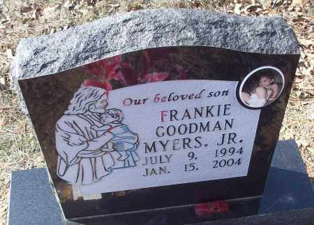 MYERS, FRANKIE GOODMAN JR. - White County, Arkansas | FRANKIE GOODMAN JR. MYERS - Arkansas Gravestone Photos