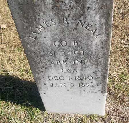 NEAL  (VETERAN CSA), JAMES R - White County, Arkansas | JAMES R NEAL  (VETERAN CSA) - Arkansas Gravestone Photos