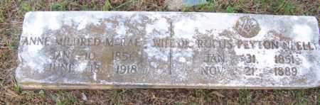 NEELL, ANNE MILDRED - White County, Arkansas | ANNE MILDRED NEELL - Arkansas Gravestone Photos