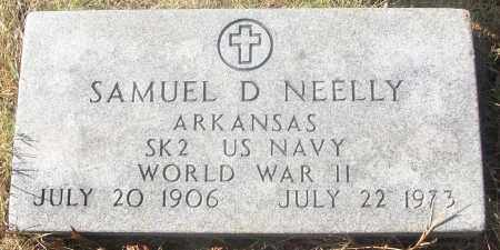NEELLY  (VETERAN WWII), SAMUEL D - White County, Arkansas | SAMUEL D NEELLY  (VETERAN WWII) - Arkansas Gravestone Photos