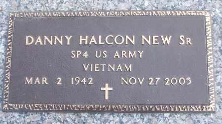 NEW, SR (VETERAN VIET), DANNY HALCON - White County, Arkansas | DANNY HALCON NEW, SR (VETERAN VIET) - Arkansas Gravestone Photos