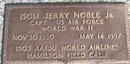 NOBEL, JR (VETERAN WWII), ISOM JERRY - White County, Arkansas | ISOM JERRY NOBEL, JR (VETERAN WWII) - Arkansas Gravestone Photos
