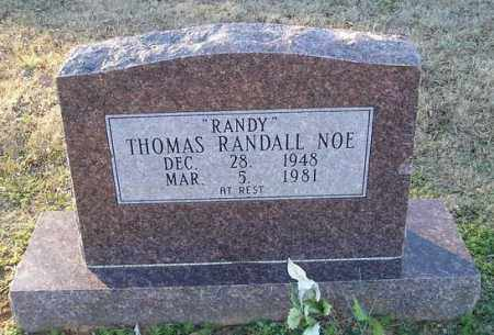 NOE, THOMAS RANDALL - White County, Arkansas | THOMAS RANDALL NOE - Arkansas Gravestone Photos