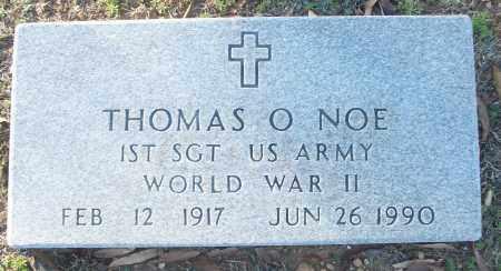NOE (VETERAN WWII), THOMAS O - White County, Arkansas | THOMAS O NOE (VETERAN WWII) - Arkansas Gravestone Photos