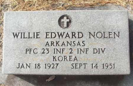NOLEN (VETERAN KOR), WILLIE EDWARD - White County, Arkansas | WILLIE EDWARD NOLEN (VETERAN KOR) - Arkansas Gravestone Photos
