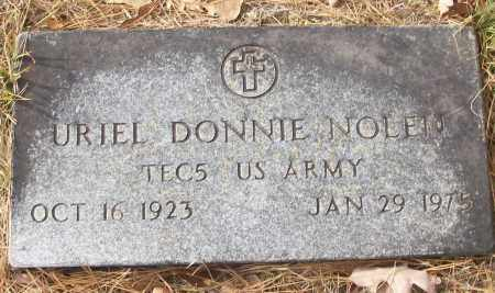 NOLEN (VETERAN), URIEL DONNIE - White County, Arkansas | URIEL DONNIE NOLEN (VETERAN) - Arkansas Gravestone Photos