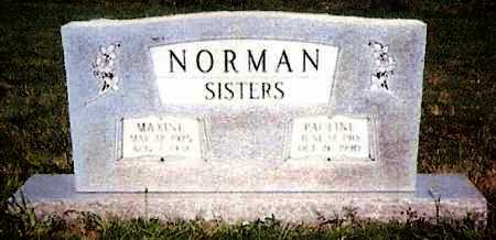 NORMAN, PAULINE - White County, Arkansas | PAULINE NORMAN - Arkansas Gravestone Photos