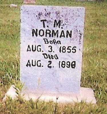 NORMAN, THOMAS MARION - White County, Arkansas | THOMAS MARION NORMAN - Arkansas Gravestone Photos