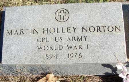 NORTON  (VETERAN WWII), MARTIN HOLLEY - White County, Arkansas | MARTIN HOLLEY NORTON  (VETERAN WWII) - Arkansas Gravestone Photos