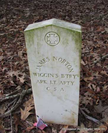 NORTON (VETERAN CSA), JAMES - White County, Arkansas | JAMES NORTON (VETERAN CSA) - Arkansas Gravestone Photos