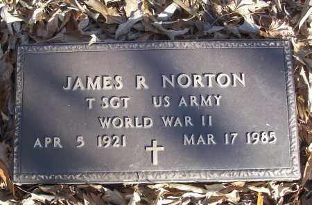 NORTON (VETERAN WWII), JAMES R - White County, Arkansas | JAMES R NORTON (VETERAN WWII) - Arkansas Gravestone Photos