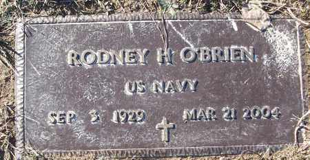 O'BRIEN (VETERAN), RODNEY H - White County, Arkansas | RODNEY H O'BRIEN (VETERAN) - Arkansas Gravestone Photos