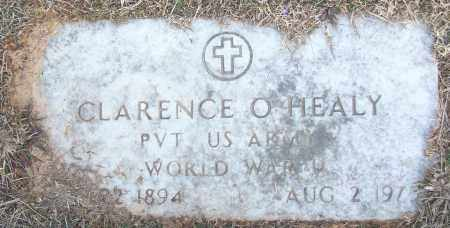 HEALY (VETERAN WWI), CLARENCE O - White County, Arkansas | CLARENCE O HEALY (VETERAN WWI) - Arkansas Gravestone Photos