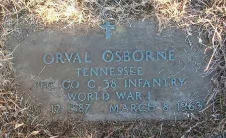 OSBORNE (VETERAN WWI), ORVAL - White County, Arkansas | ORVAL OSBORNE (VETERAN WWI) - Arkansas Gravestone Photos