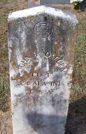 OSBURN (VETERAN CSA), JOHN R - White County, Arkansas | JOHN R OSBURN (VETERAN CSA) - Arkansas Gravestone Photos
