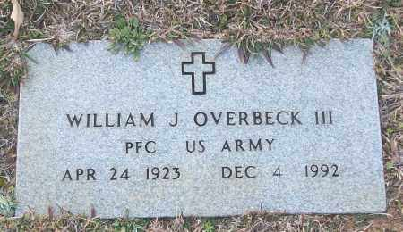 OVERBECK III (VETERAN), WILLIAM J - White County, Arkansas | WILLIAM J OVERBECK III (VETERAN) - Arkansas Gravestone Photos