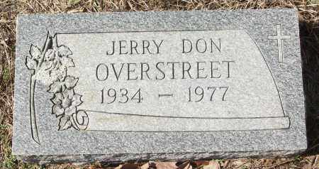 OVERSTREET, JERRY DON - White County, Arkansas | JERRY DON OVERSTREET - Arkansas Gravestone Photos