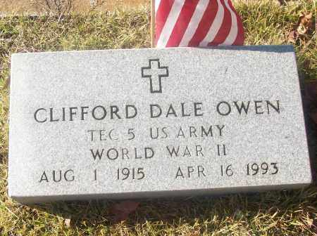 OWEN  (VETERAN WWII), CLIFFORD DALE - White County, Arkansas | CLIFFORD DALE OWEN  (VETERAN WWII) - Arkansas Gravestone Photos