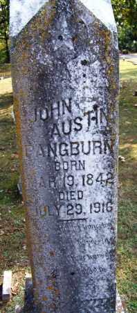 PANGBURN, JOHN AUSTIN - White County, Arkansas | JOHN AUSTIN PANGBURN - Arkansas Gravestone Photos