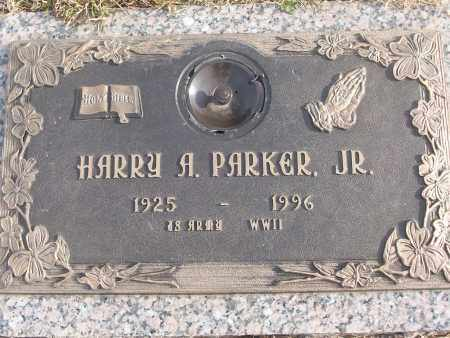PARKER, JR (VETERAN WWII), HARRY A - White County, Arkansas | HARRY A PARKER, JR (VETERAN WWII) - Arkansas Gravestone Photos