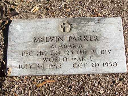 PARKER (VETERAN WWI), MELVIN - White County, Arkansas | MELVIN PARKER (VETERAN WWI) - Arkansas Gravestone Photos