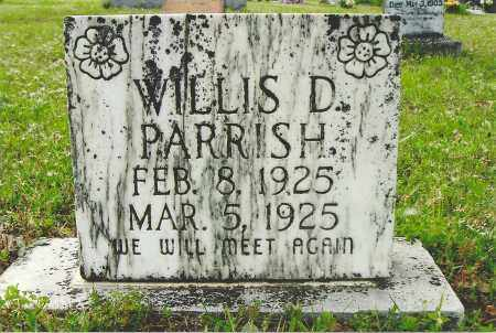 PARRISH, WILLIS D - White County, Arkansas | WILLIS D PARRISH - Arkansas Gravestone Photos