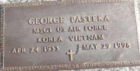 PASTEKA (VETERAN 2 WARS), GEORGE - White County, Arkansas | GEORGE PASTEKA (VETERAN 2 WARS) - Arkansas Gravestone Photos