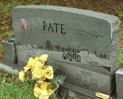 PATE, OLEN - White County, Arkansas | OLEN PATE - Arkansas Gravestone Photos
