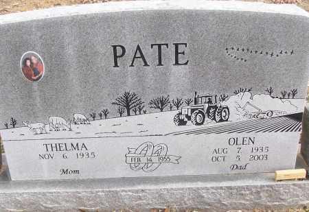PATE, OLEN - White County, Arkansas | OLEN PATE - Arkansas Gravestone Photos