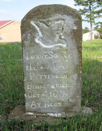 PATTERSON, INFANT SON - White County, Arkansas | INFANT SON PATTERSON - Arkansas Gravestone Photos