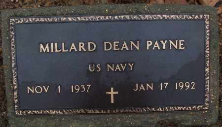 PAYNE (VETERAN), MILLARD DEAN - White County, Arkansas | MILLARD DEAN PAYNE (VETERAN) - Arkansas Gravestone Photos