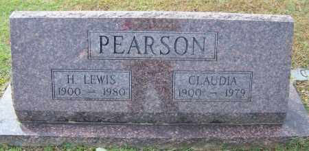 PEARSON, CLAUDIA - White County, Arkansas | CLAUDIA PEARSON - Arkansas Gravestone Photos