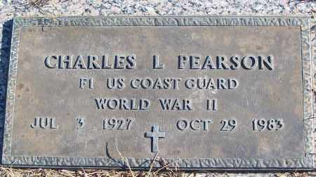 PEARSON (VETERAN WWII), CHARLES L - White County, Arkansas | CHARLES L PEARSON (VETERAN WWII) - Arkansas Gravestone Photos